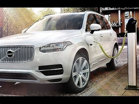 volvo xc hybrid suv volvo  twin engine  tv