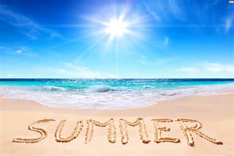 Lato, Plaża, Słońce, Morze, Napis