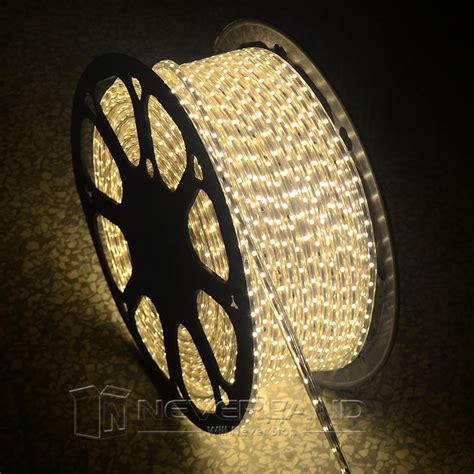 1m 50m 110v 120v 3528 smd led rope light in outdoor