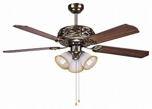 Hampton bay bronze ceiling fan light quot with manual pull