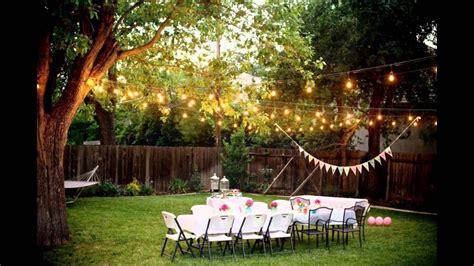 backyard weddings   budget youtube