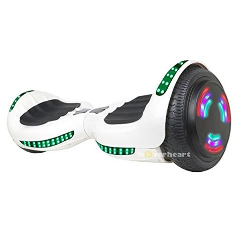 hoverboard with bluetooth speakers and led lights hoverboard ul 2272 certified flash wheel 6 5 quot bluetooth