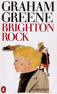 Image result for images book cover brighton rock