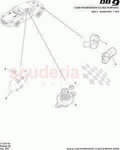 Aston Martin 9g43-37-11061  Module  Parking Aid