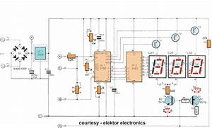 How To Make A Digital Voltmeter  Ammeter Circuit Module