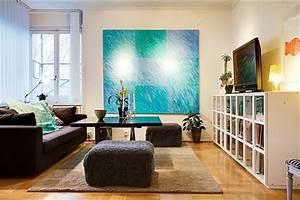 Deko Türkis Wohnzimmer : 41 vorschl ge f r dekoration in t rkis farbe ~ Sanjose-hotels-ca.com Haus und Dekorationen