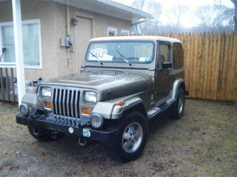 old jeep wrangler 1990 1990 jeep wrangler sahara 114k origional miles classic