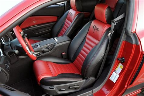 Auto Seat Upholstery Kits by Top Grade Interior Kit By Katzkin For Your Mustang At