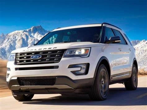 2017 Ford Explorer Xlt Sport Appearance Package Unveiled