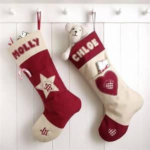personalised letter to santa stocking by milly and pip With christmas stocking letter c