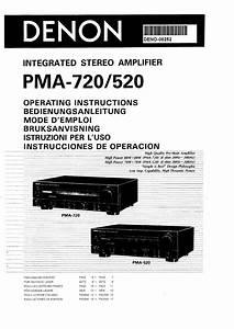 Denon Pma-520