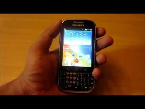 samsung galaxy chat b5330 android phone malayalam review youtube