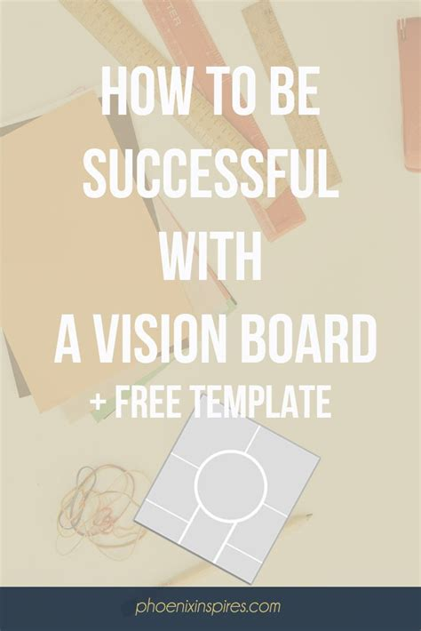 Vision Board Template Best 25 Vision Board Template Ideas On Goals