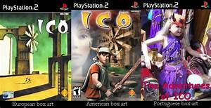 Portuguese Box Art: Ico, PS2 | ANDORE JR.