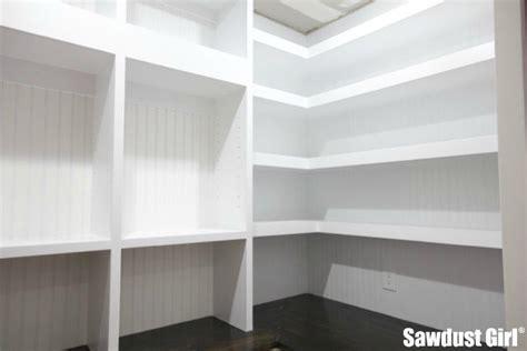 Pantry Floating Shelves   Sawdust Girl®