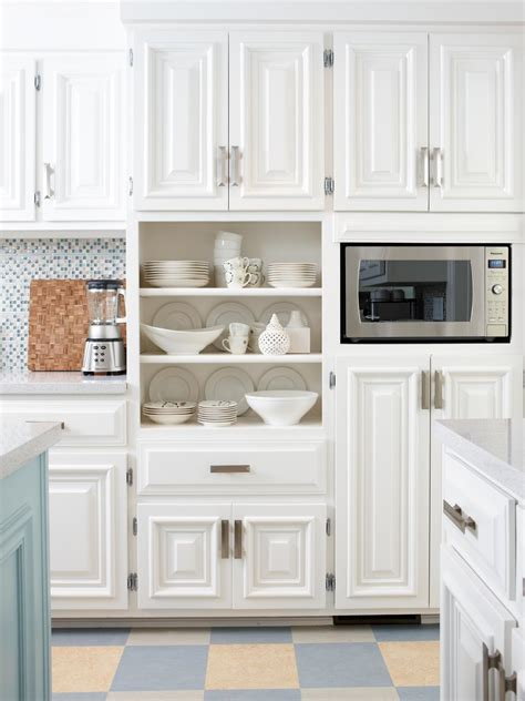 Open Shelf Kitchen Ideas - the perfect kitchens with white cabinets for you midcityeast