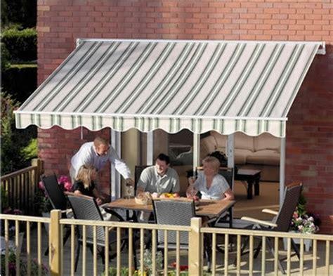 high quality multistripe green    retractable patio