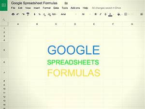 15 useful google spreadsheet formulas and functions you With google docs spreadsheet power