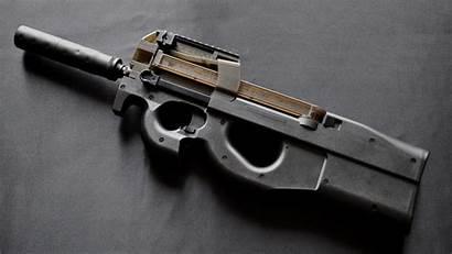Fn P90 Gun Machine Sub Weapons Wallpapers