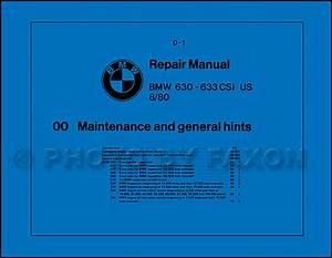 1978 Bmw 633csi Wiring Diagram Original