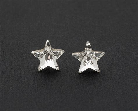 925 silver earrings swarovski earrings stud earrings earrings