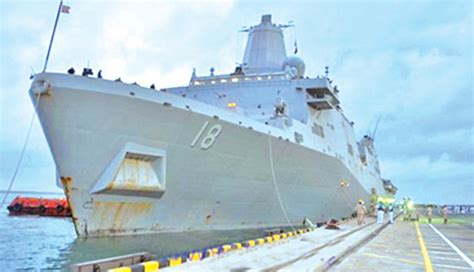 us omani and japanese naval ships arrive at colombo port