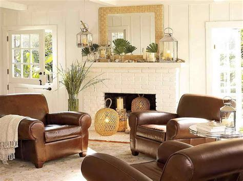 Decorating Ideas Living Room Leather Sofa by Leather Sofa Cottage Style The Images Collection Of Chair