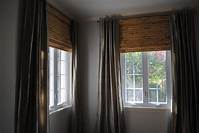 bamboo roman shades Create a peaceful ambient with Roman shades - Interior ...