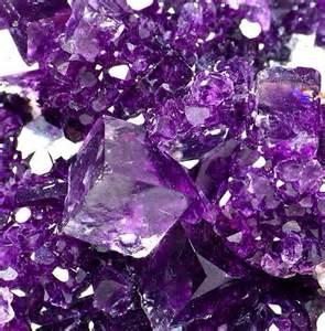 Purple Fluorite Crystal