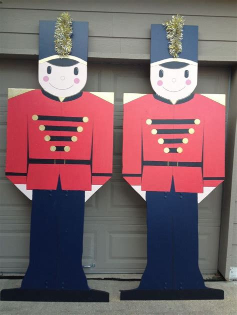 plywood christmas yard decoration patterns toy soldier