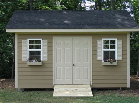 creas   build shed foundation uneven ground