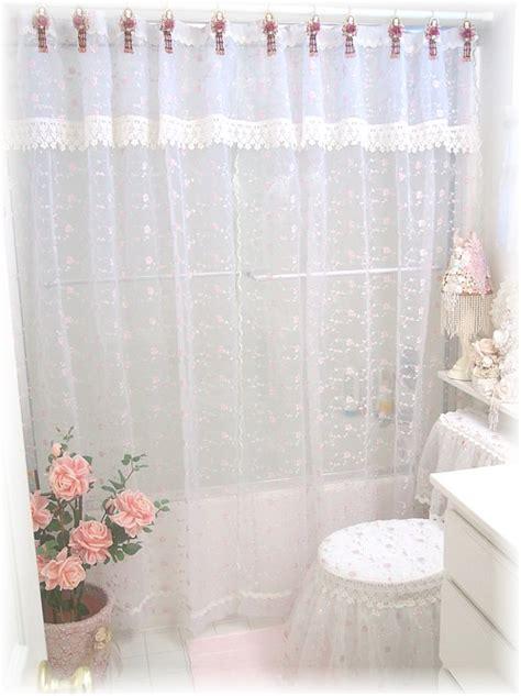 toilet ensemble  shower curtain