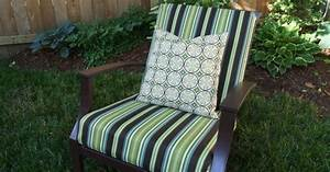 sew easy way to cover those old outdoor cushions hometalk With easy outdoor furniture covers