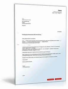 Steuern Und Versicherung Berechnen : k ndigung der kfz versicherung muster vorlage zum download ~ Themetempest.com Abrechnung
