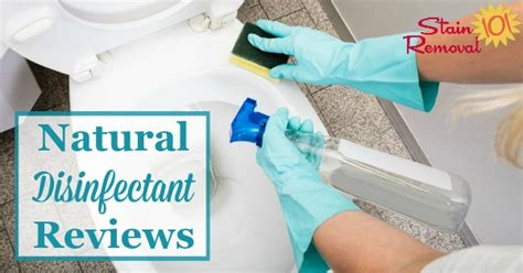 Natural Disinfectants Reviews: Which Work Best?
