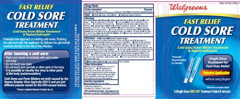 cold sore treatment tincture   p industries
