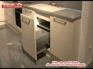 Spülenunterschrank 60 Cm : dyk360 sp lenunterschrank mit auszug und abfalltrennsystem 60 youtube ~ Indierocktalk.com Haus und Dekorationen