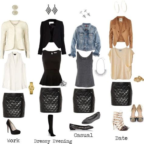 U0026quot;Leather Skirt Outfit Ideas (KB)u0026quot; by kimbrooksstyle on Polyvore Visit kimbrooksstyle.com or our ...