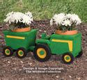 yard garden projects farm tractor mailbox