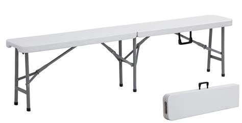 table pliable pas cher banc pliable 183cm table chaise pliante cing mobilier pliant e