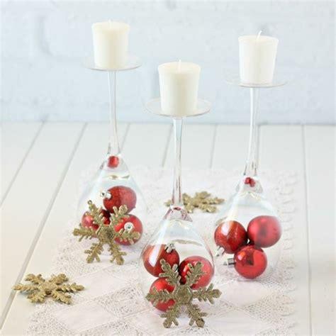 Weihnachtsdeko Mit Weingläsern by 10 Diy Ideen Mit Weingl 228 Sern Die Ganz Einfach Und Schnell