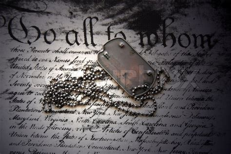 freedom    dog tag  american constitution