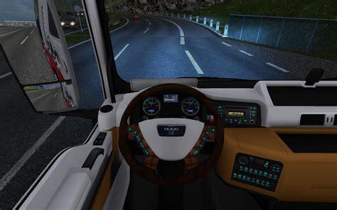 man tgx interior  hummer  mod euro truck