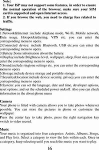 Mobiwires Oneida 4g Smart Feature Phone User Manual