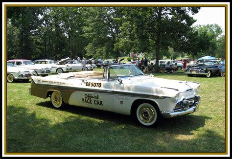1956 Desoto Fireflite Convertible Pace Car Top Down