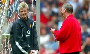 David Beckham hails Sir Alex Ferguson as 'the greatest ...