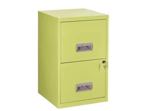 classeur monobloc couleur 2 tiroirs pour dossiers suspendus contact maxiburo