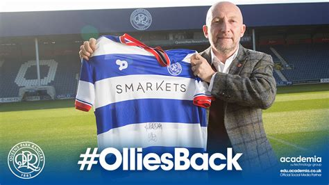Ian Holloway made Queens Park Rangers manager for a second ...