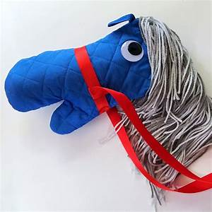 No Sew Stick Horse