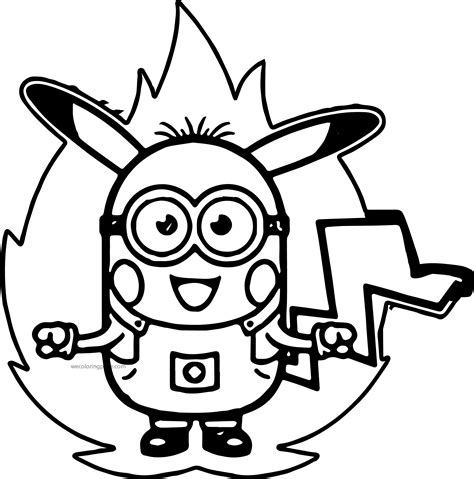 Minion Coloring Pages Coloringsuitecom